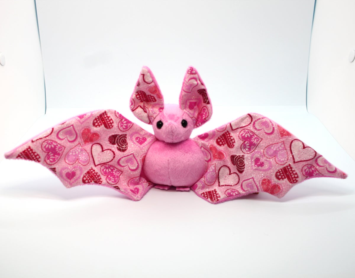 Image of Love and Glitter Bat - Made to Order