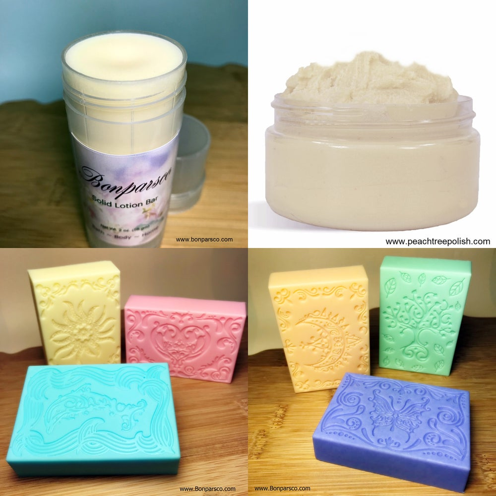 Image of 3 piece set with Lotion Bar