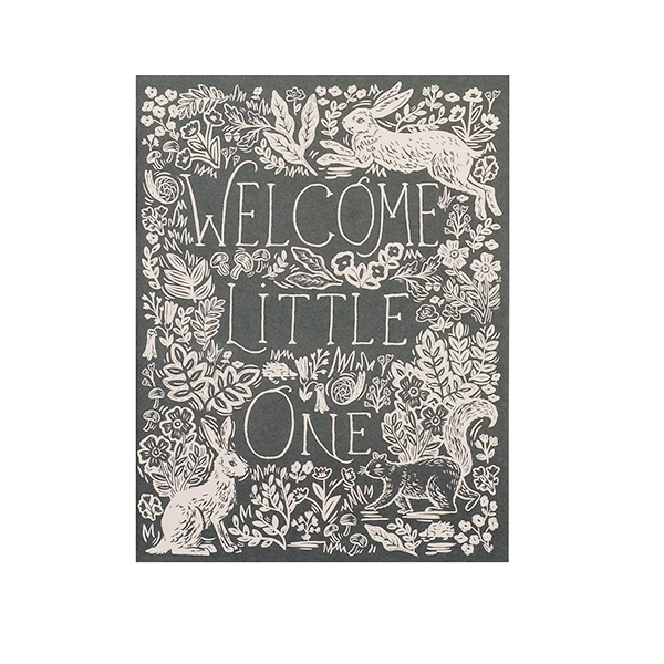 Image of FABLE BABY GREETING CARD