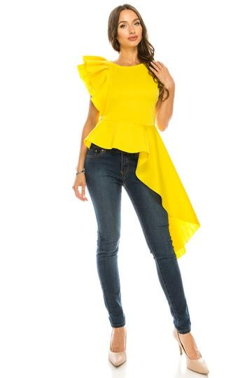 Image of Ready to Ruffle Blouse