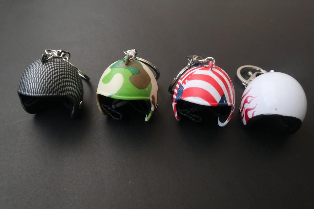 Helmet Keychains