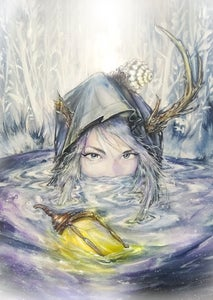 """Image of Limited Edition """"The Hermit"""" Print"""