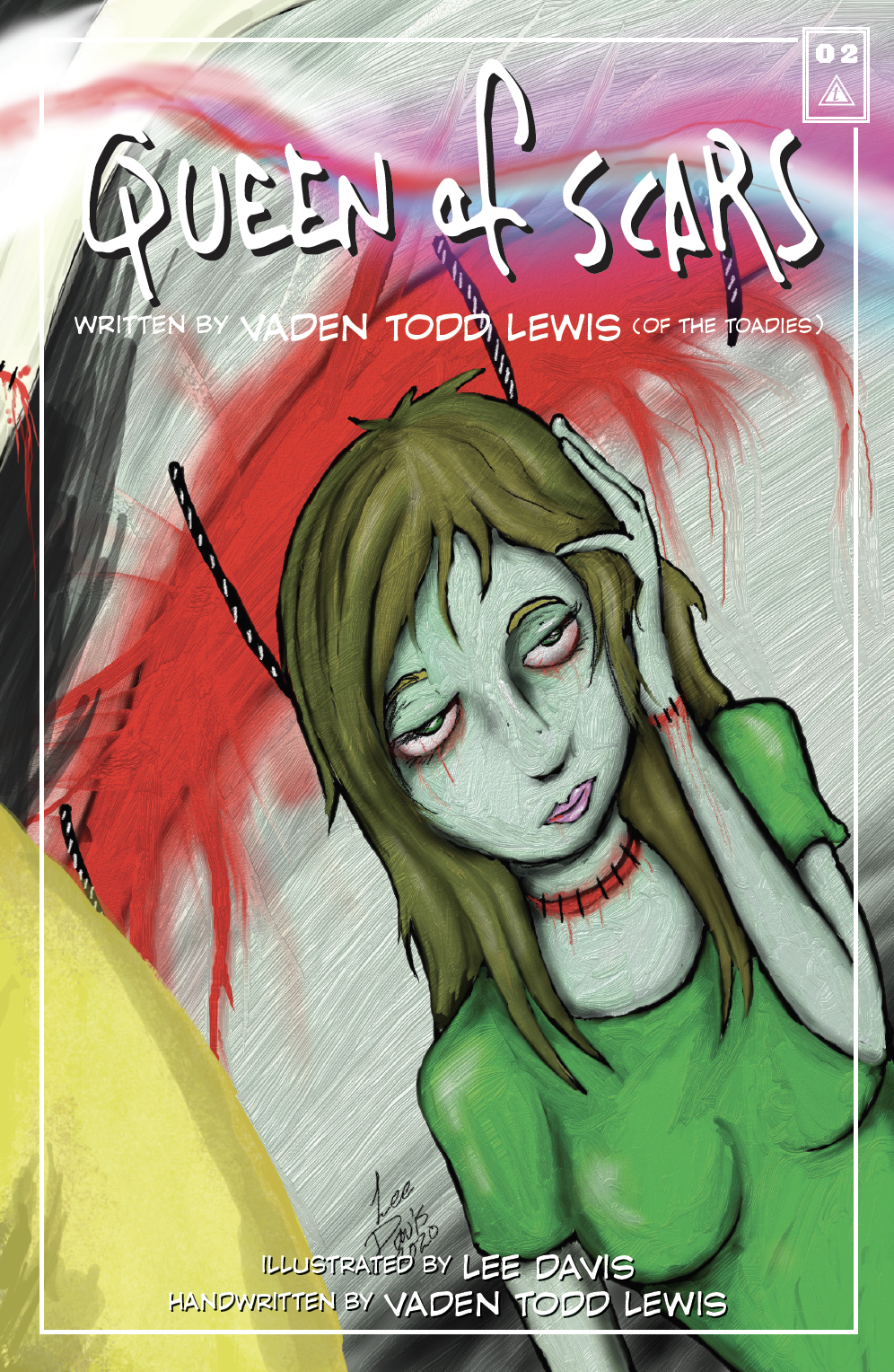 Foil Cover Queen of Scars Lyric Comic