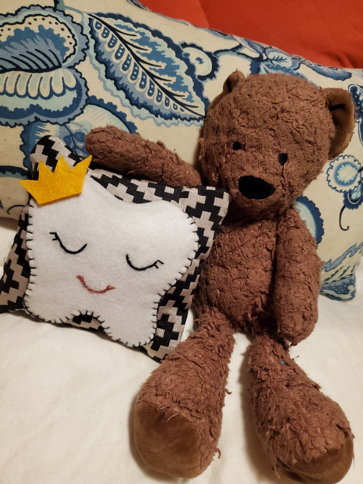 Image of Tooth fairy mini pillow