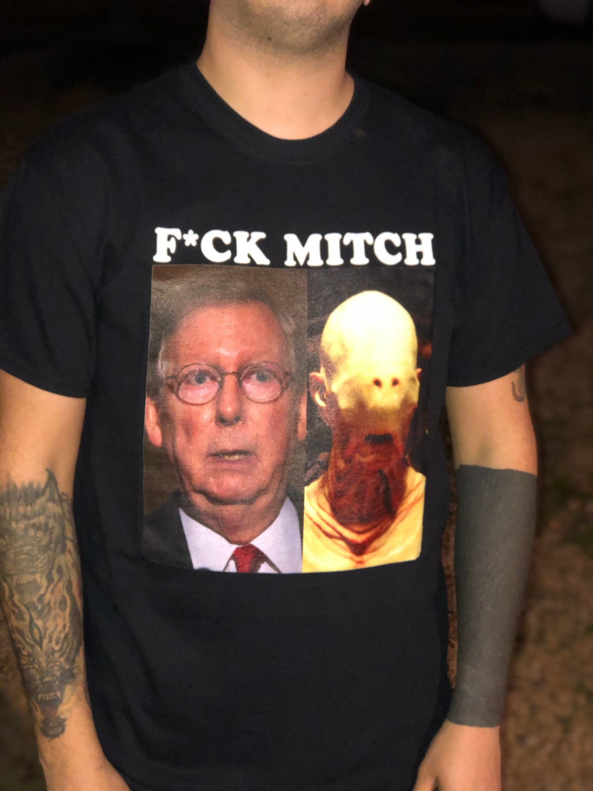 Image of F*CK MITCH T-Shirt (Limited Time Only)