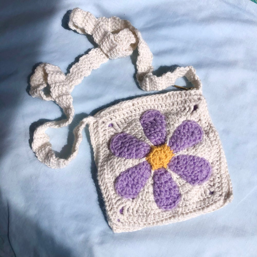 Image of Lilac Daisy Bag