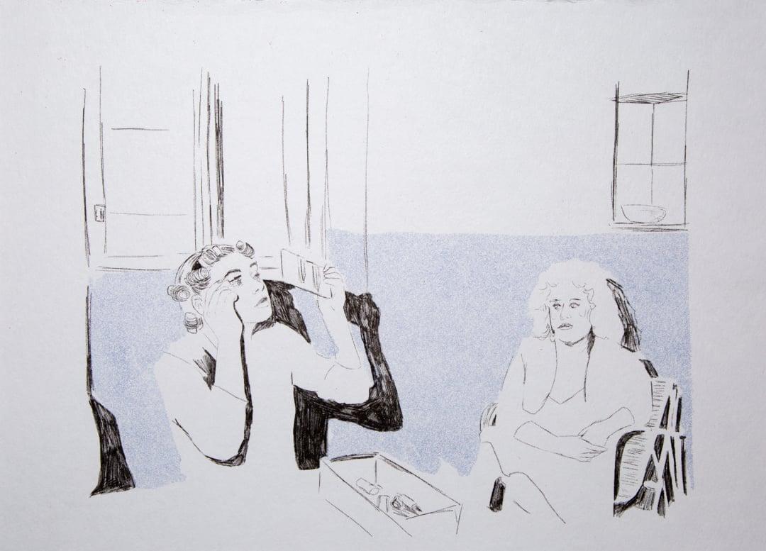 "Image of ""Waiting"" Citlali Haro"