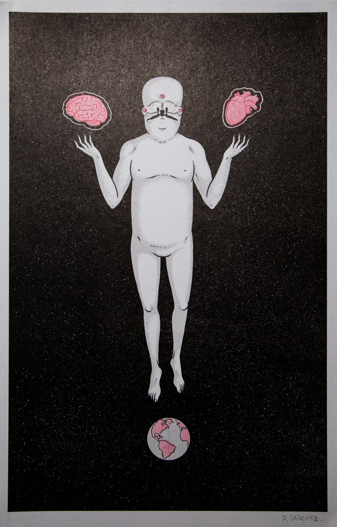 """Image of """"GOD"""" David Sánchez"""