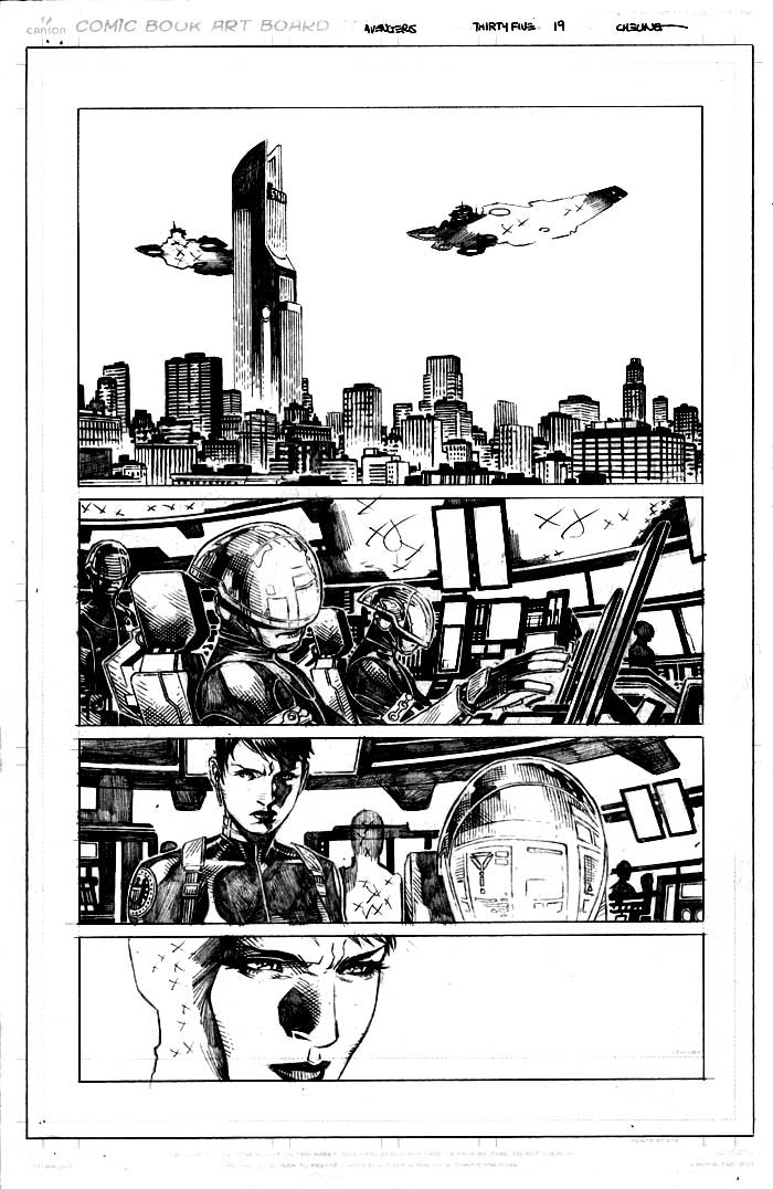 Image of AVENGERS #35 page 19