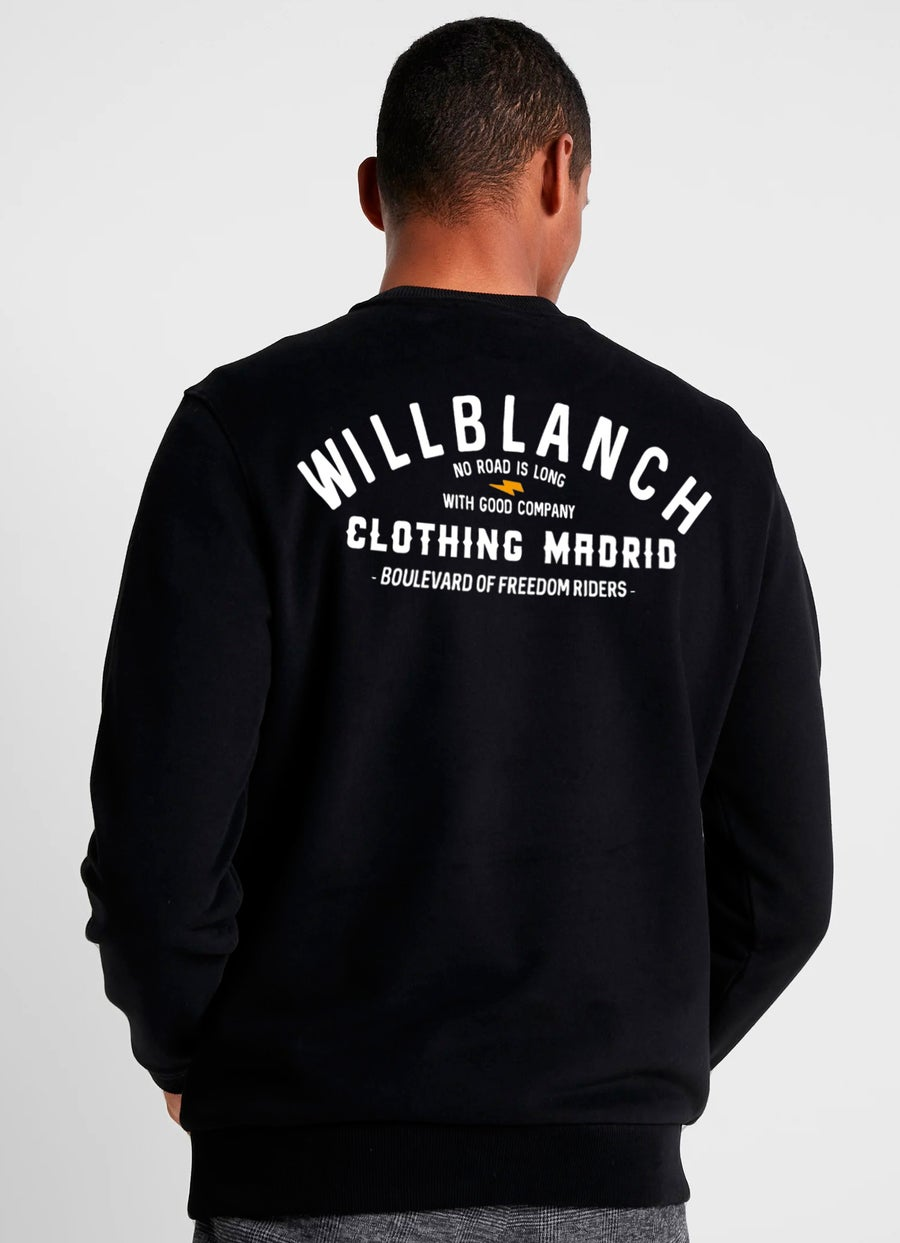 Image of BLACK BOLT SWEATSHIRT
