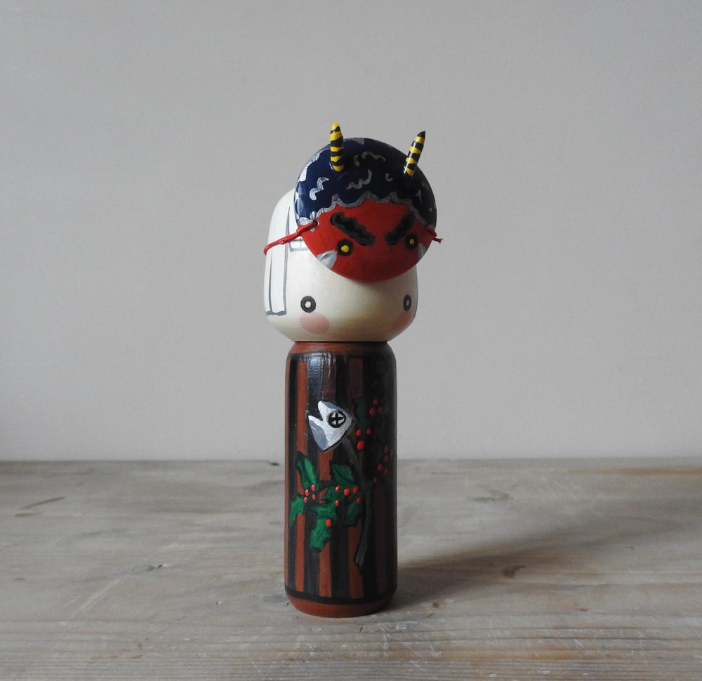 Image of hiragi washi setsubun girl