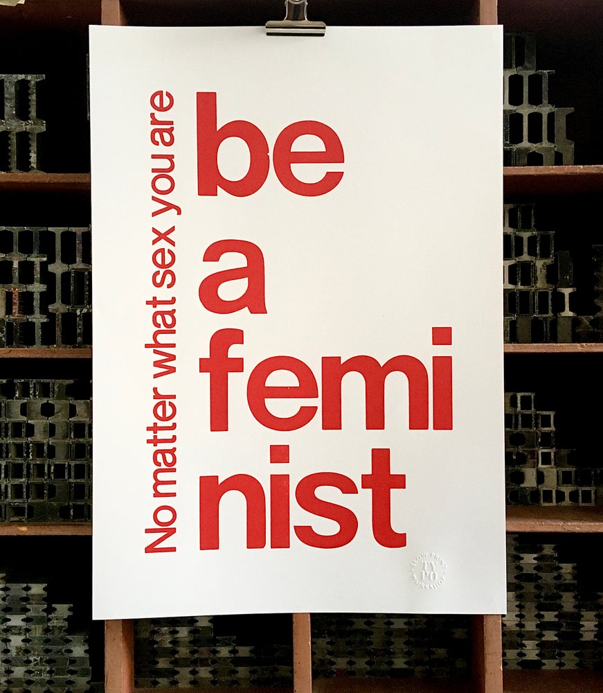 Image of BE A FEMINIST