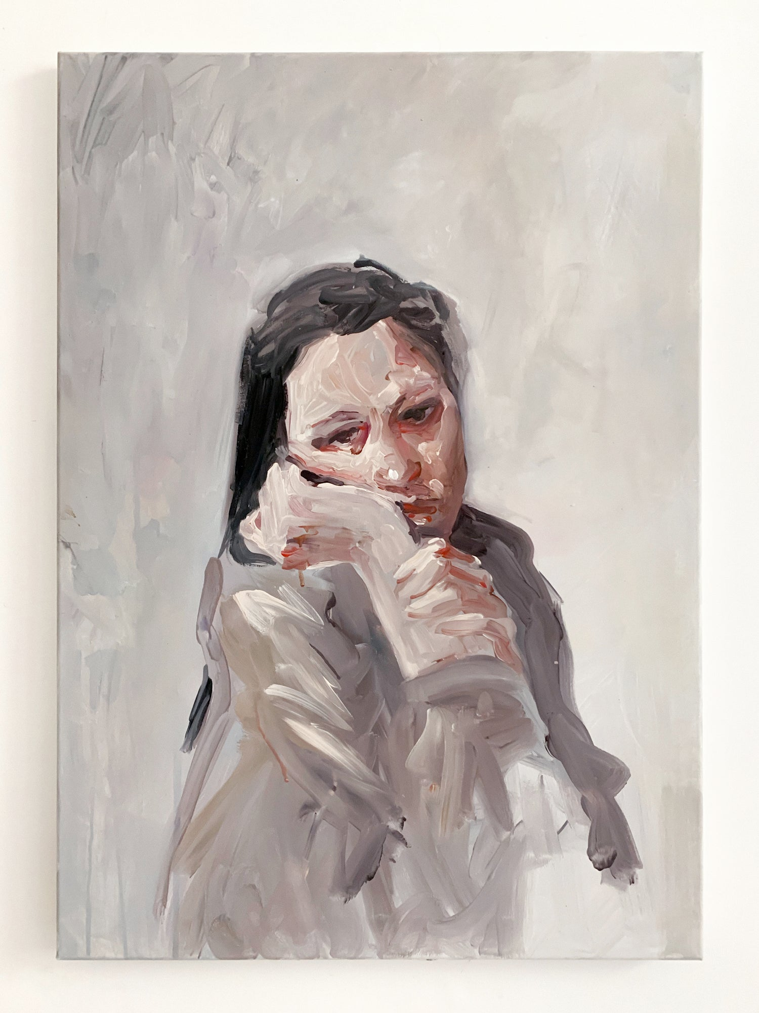 Agnes-Cecile gray waiting