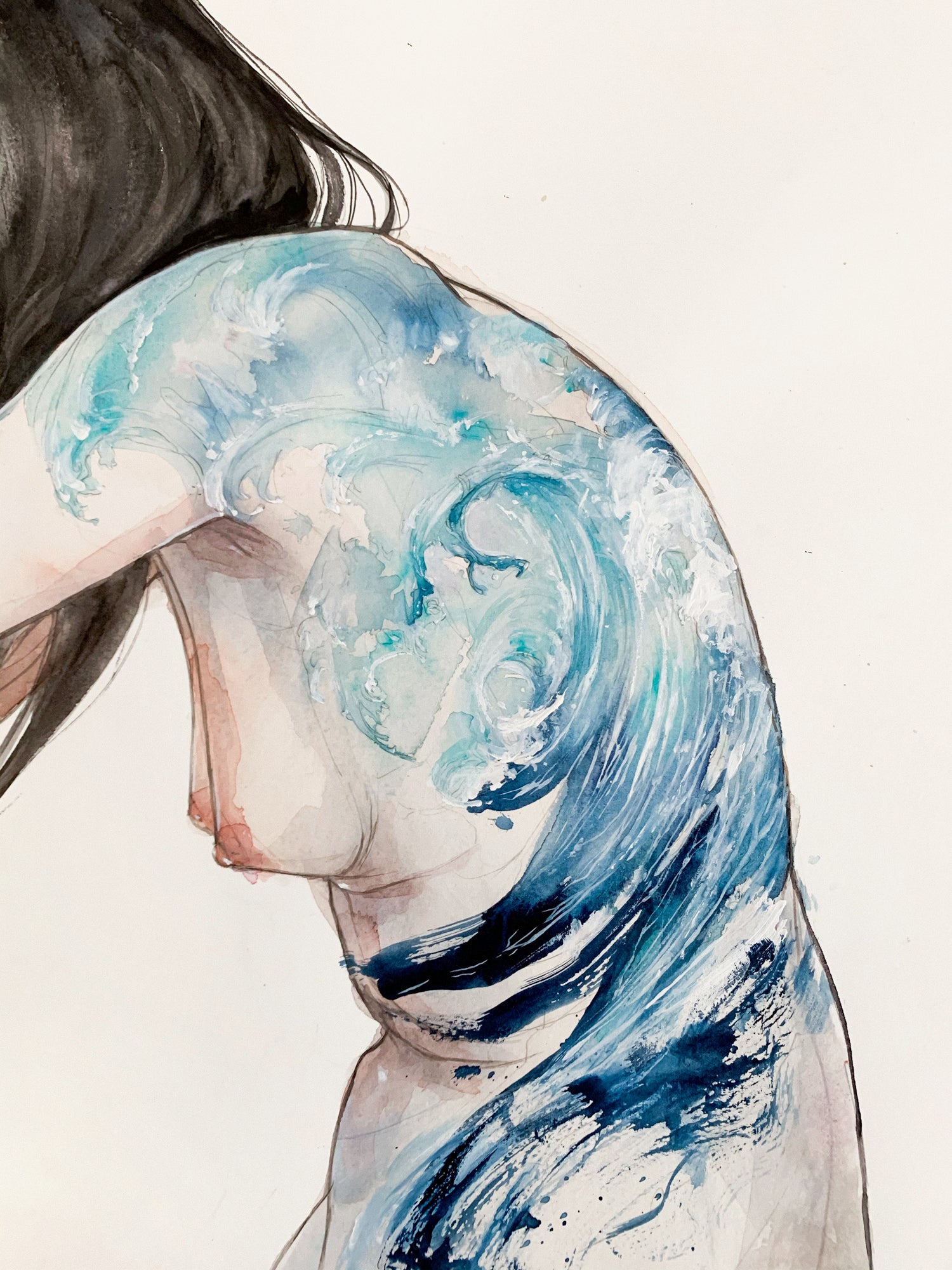 Agnes-Cecile mood: the wave