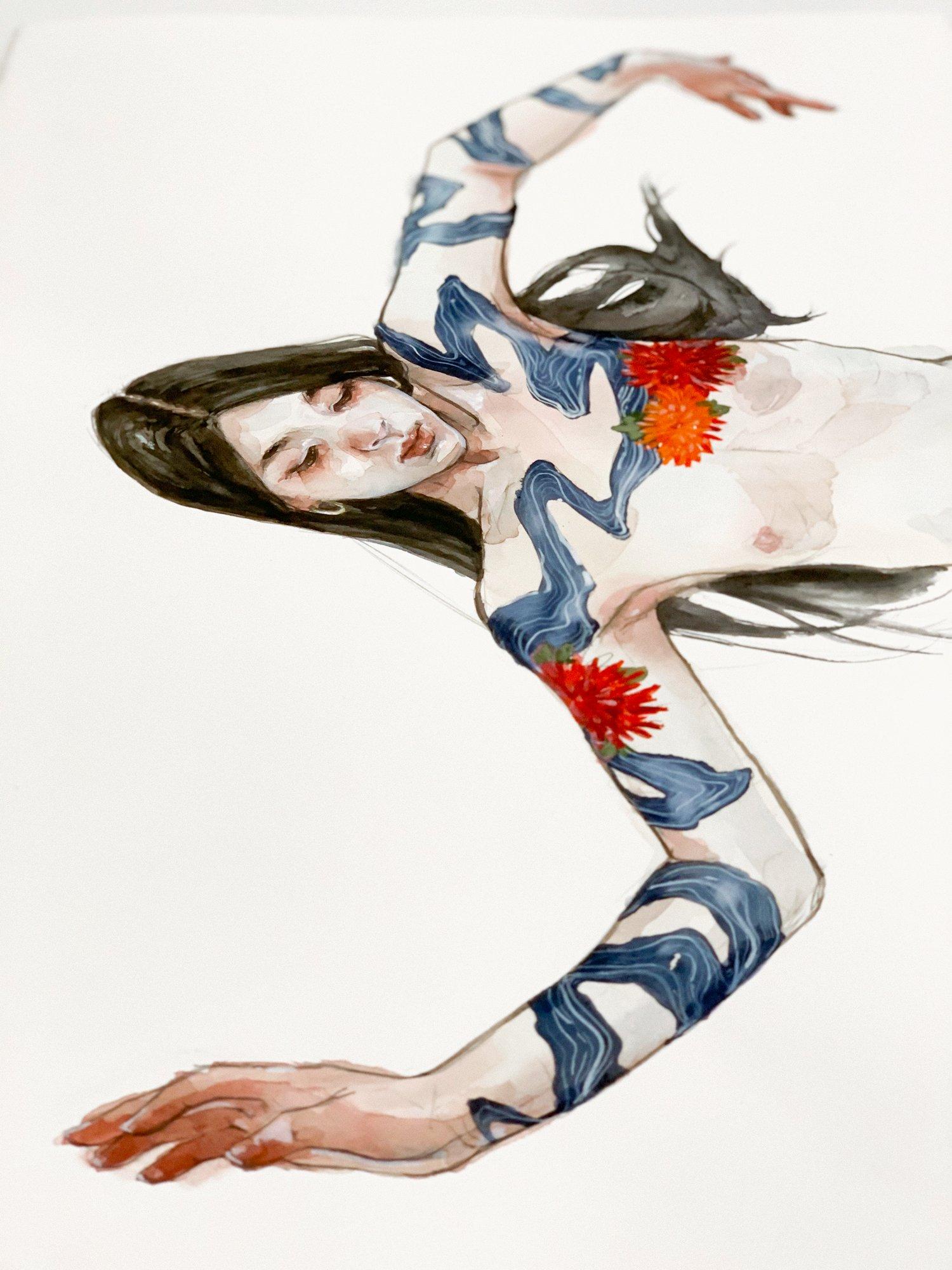 Agnes-Cecile mood: the river