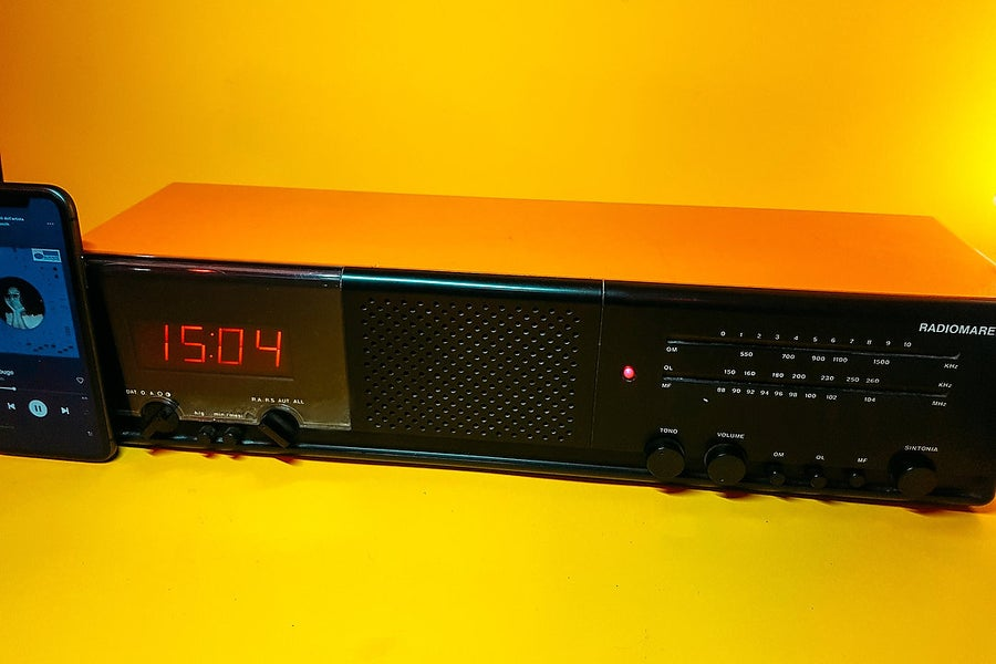 Image of RADIOMARELLI CLOCK (1981) SPEAKER BLUETOOTH