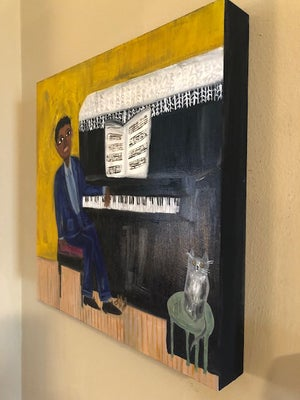Image of Sonny's Blues. Original oil painting.