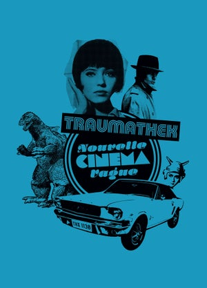 Traumathek T-Shirt Azur