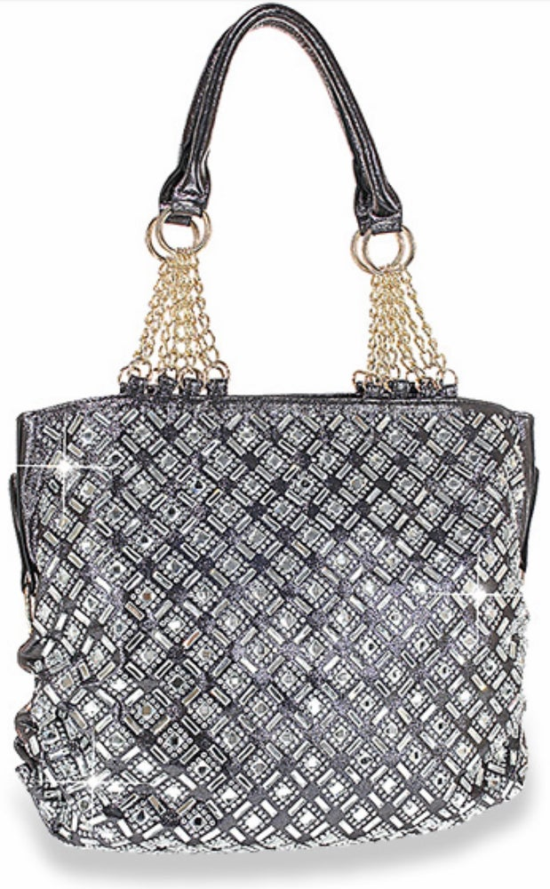 "Image of ""Sparkling"" Shimmering Shoulder Purse"