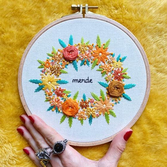 Image of Merde fleuri