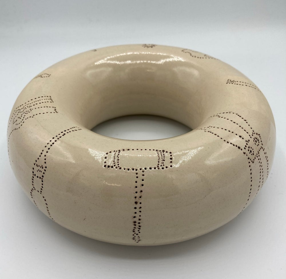 Image of Giant donut with tool design