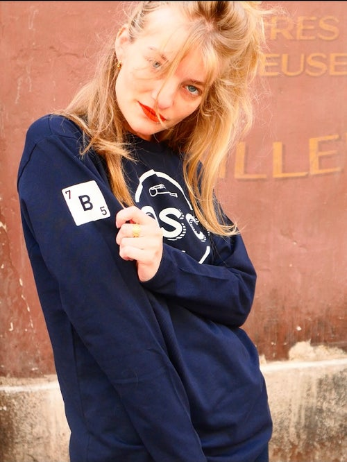 Image of      BOSCO PARIS T-shirt long sleeves full logo