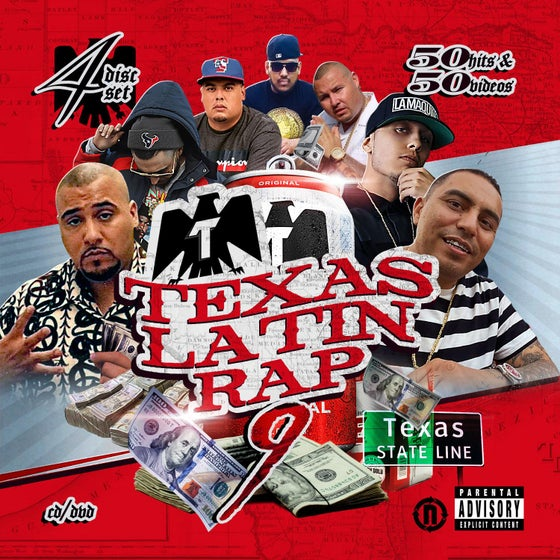Image of Texas Latin Rap Volume 9 (4 Disc) *Pre-Order*