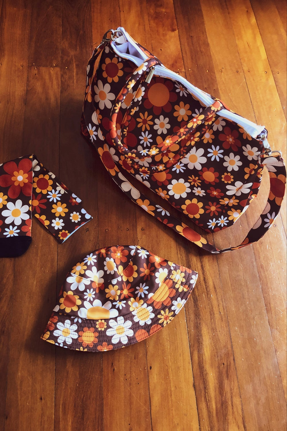 Day tripper bag in Sunny side up Brown