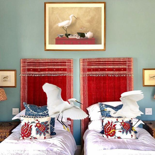 Image of Posturing Egret