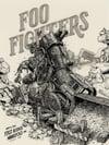 Foo Fighters (The Van Tour 2020 • Minneapolis) • KEYPLATE VARIANT