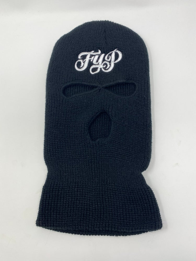 Image of OG Logo Ski Mask Black