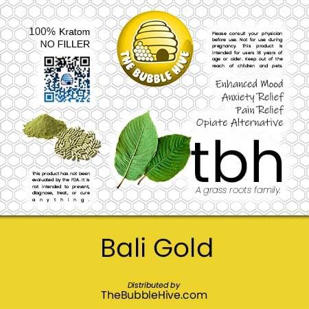 Image of Bali Gold Kratom Powder