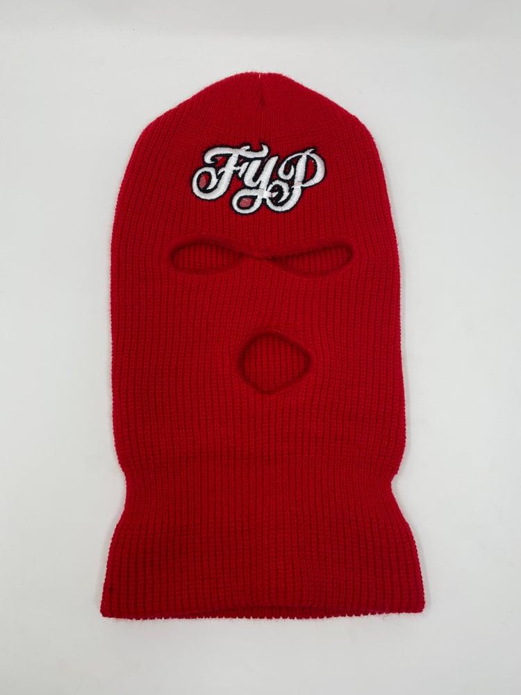 Image of OG Logo Ski Mask Red