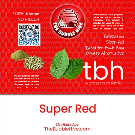Image of Super Red Kratom (Powder & Capsules Available)
