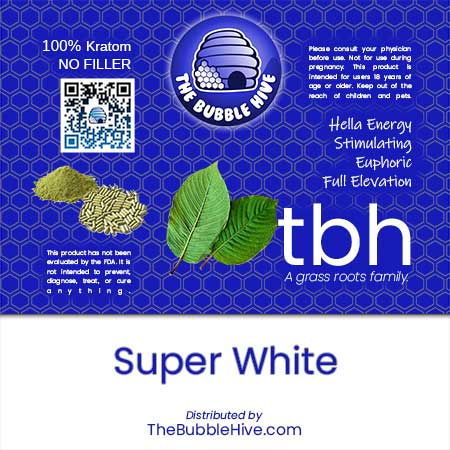 Image of Super White Kratom (Powder & Capsules Available)