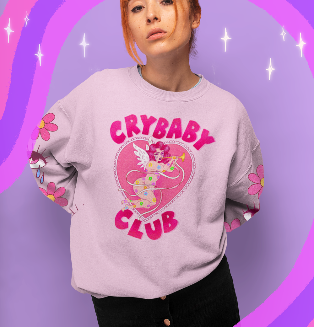 Image of CRYBABY CLUB SWEATSHIRT