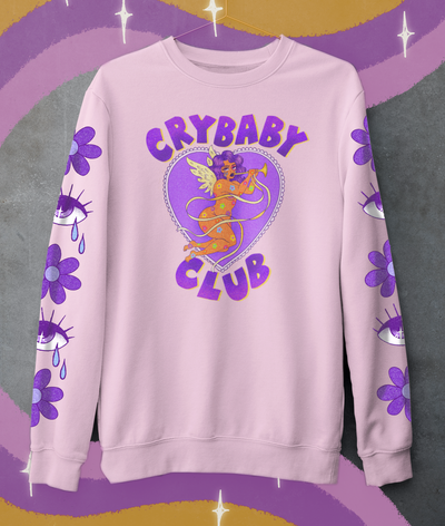 Image of CRYBABY CLUB SWEATSHIRT