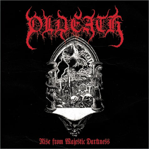 "Image of OLDEATH (Chile) ""Rise from Majestic Darkness"" CD"