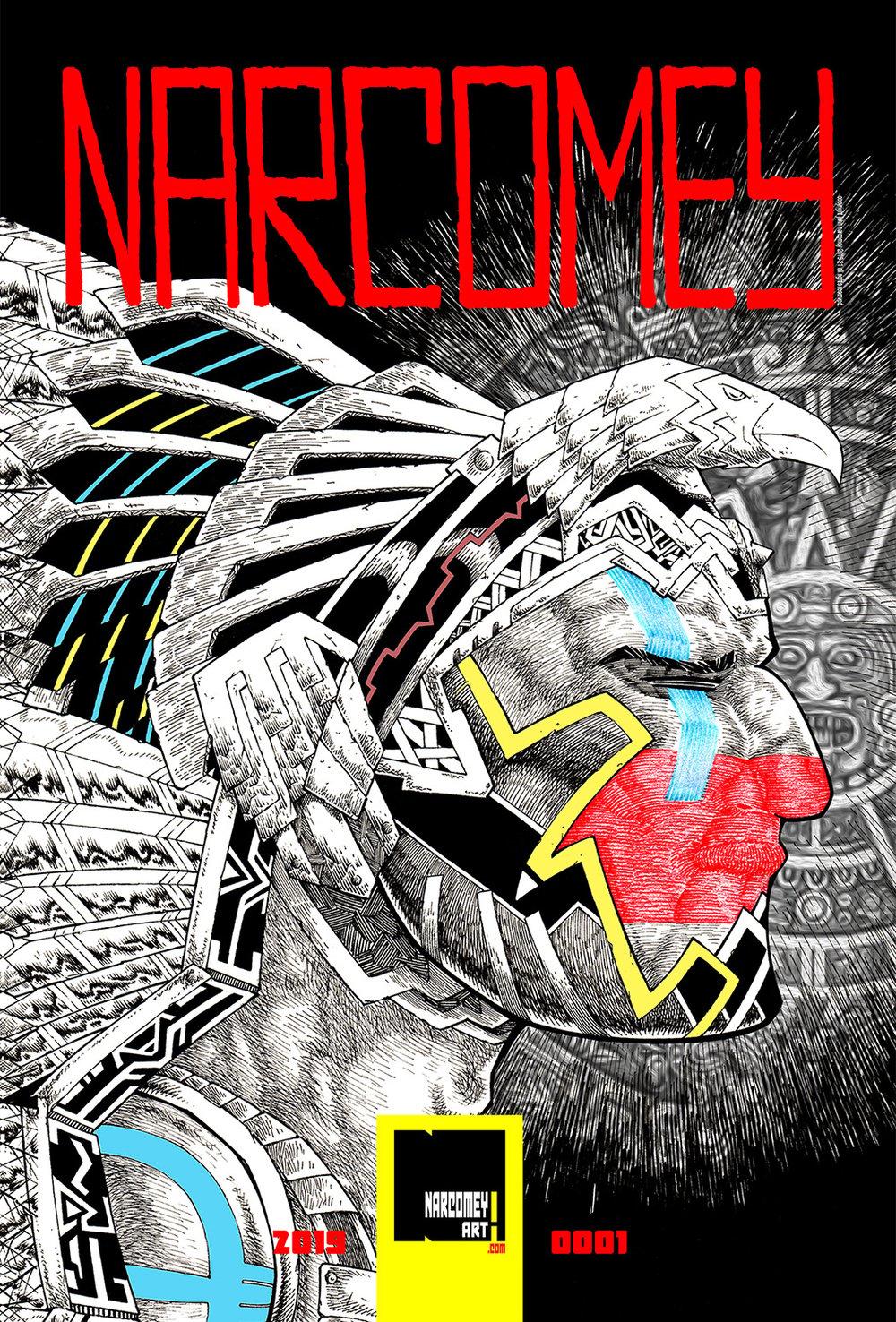 NARCOMEY ZINE, Vol. 001 Reg Edition