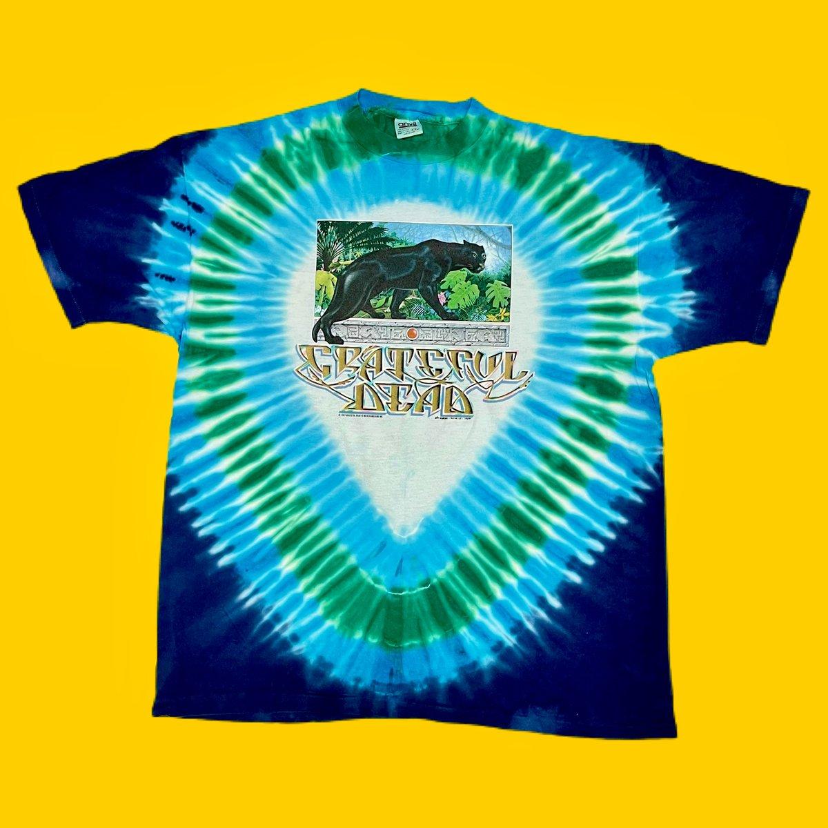 Original Vintage Grateful Dead 1980's Rainforest Tee! XX-Large