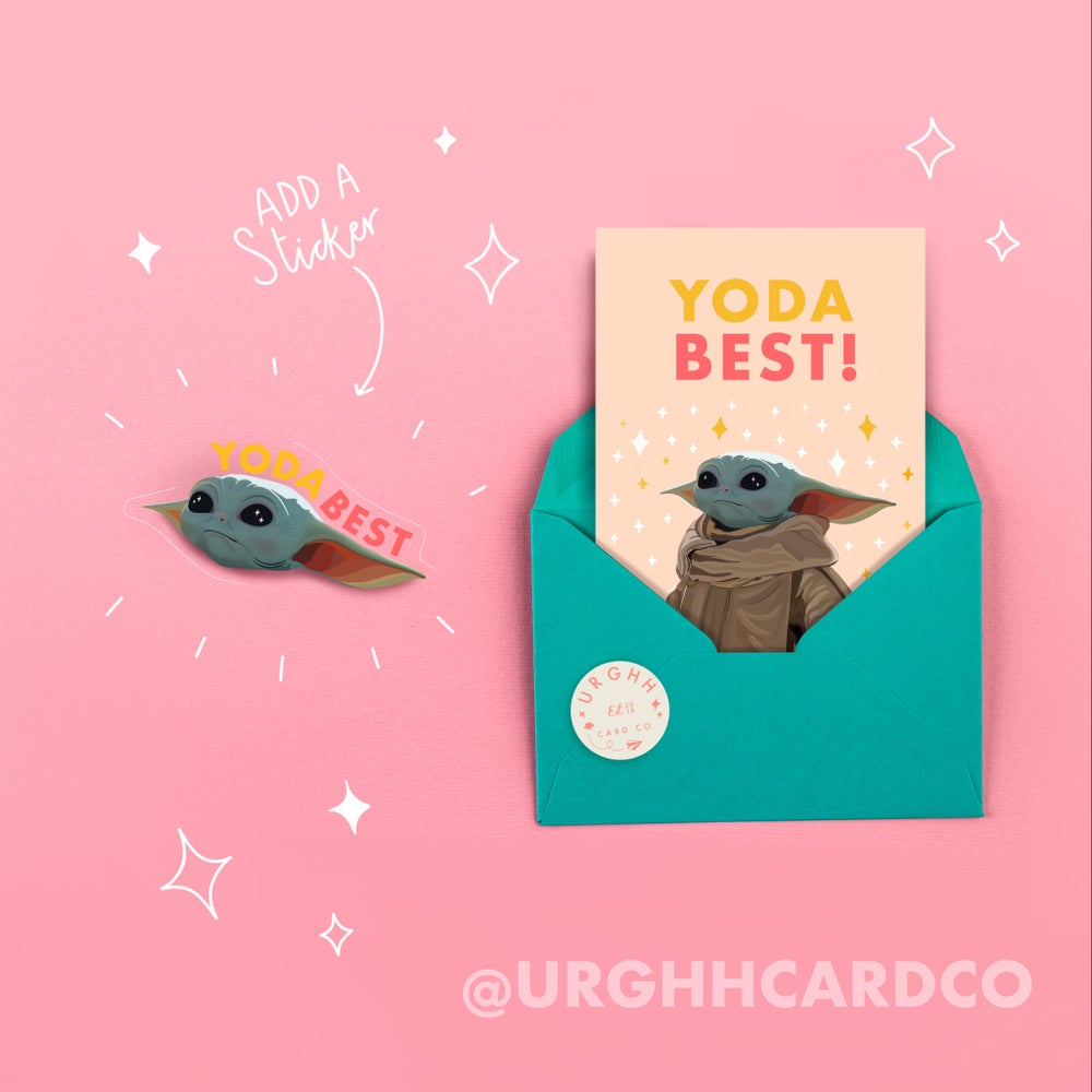 Image of YODA BEST Card by URGHH Card Co.