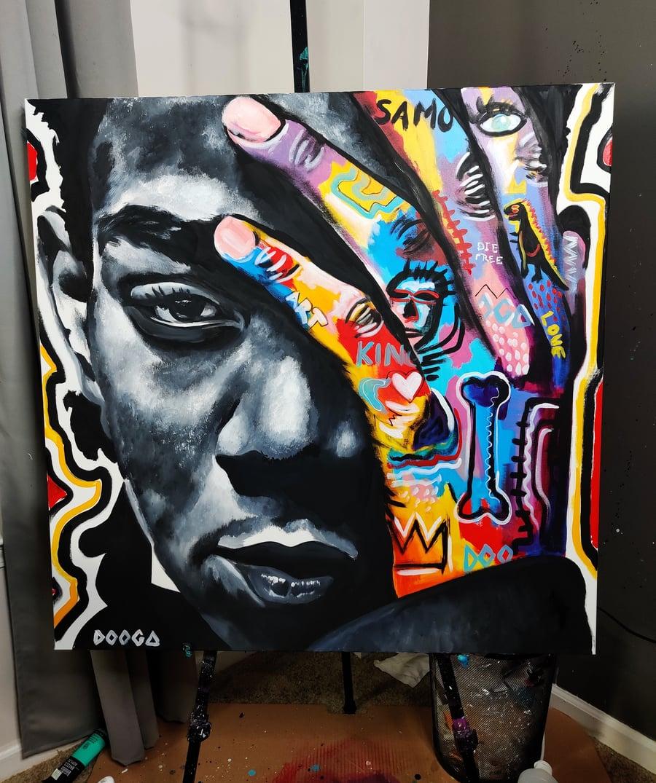 Image of King Basquiat - Canvas Print