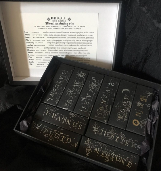 Image of Astrological Anointing Box set