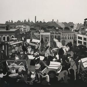 """Image of THIBAUT HUCHARD """" View of the Bronx """" 2020"""
