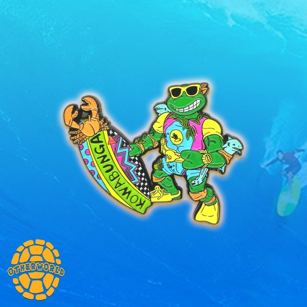 Image of Surf'n Mikey pin