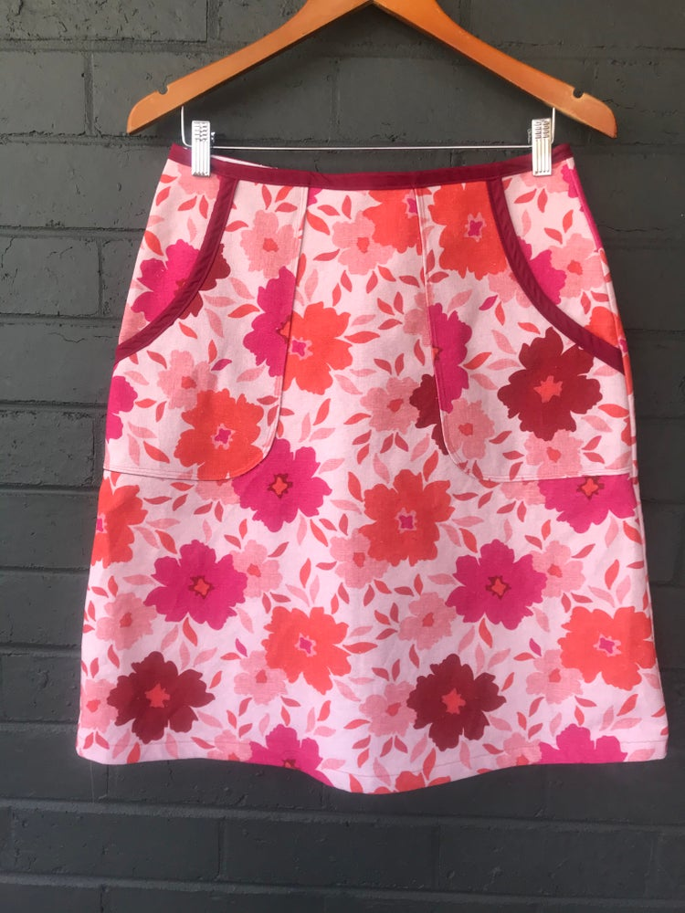 Image of KylieJane pocket skirt- floral fantastic