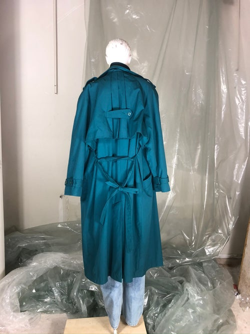 Image of Emerald Green Trenchcoat