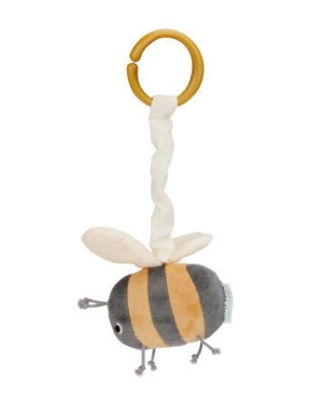 Image of Little Dutch Hochet Peluche vibrante abeille