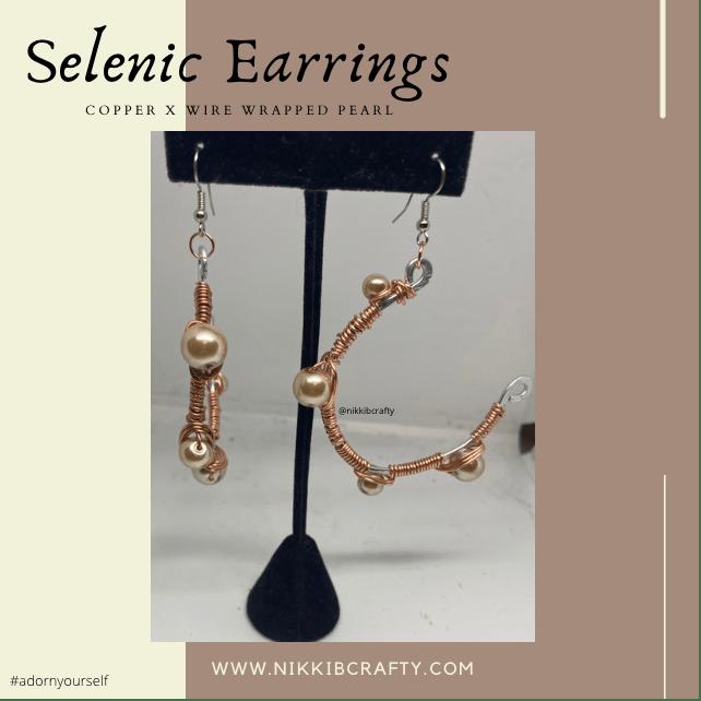 Image of Selenic Earrings - Free Shipping