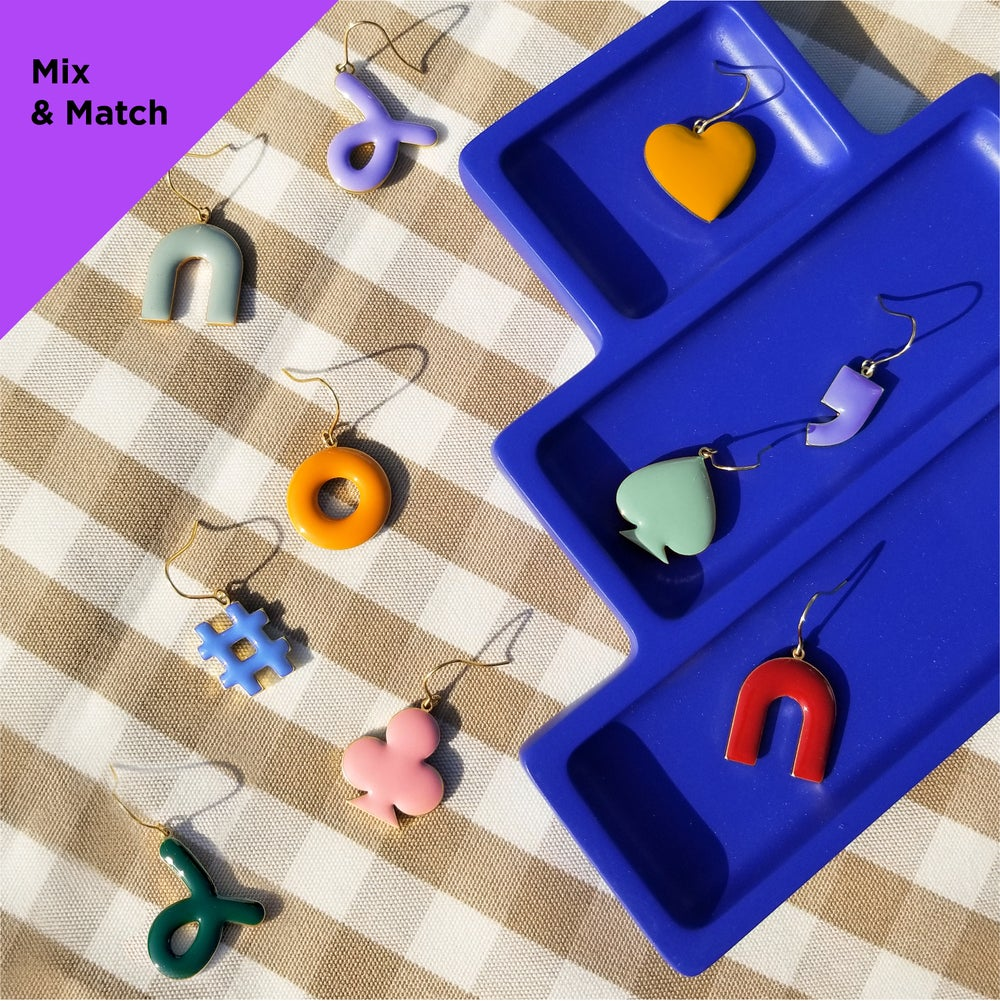 Mix & Match Earrings : Pastel